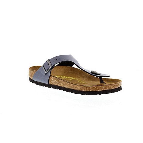 Birkenstock - Blue +Gizeh+ thong sandal