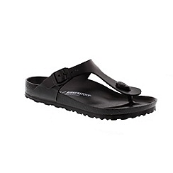 Birkenstock - Black Gizeh Eva  Womens Sandals