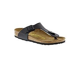 Birkenstock - Black 'Gizeh' thong flip flops