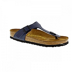 Birkenstock - Blue 'Gizeh' ladies thong style sandals