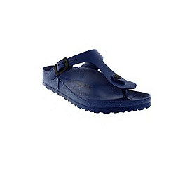 Birkenstock - Navy 'Gizeh' eva women's toe post sandal
