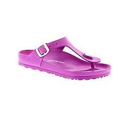 Birkenstock - Pink 'Gizeh' eva women's toe post sandal