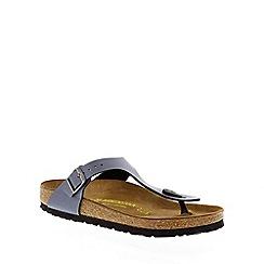 Birkenstock - Blue 'Gizeh' thong sandal