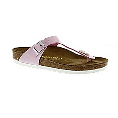 Birkenstock - Pink pearly rose 'Gizeh' ladies toe post sandal