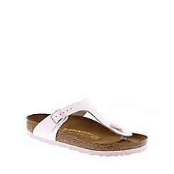 Birkenstock - Pink Rose Gizeh ladies toe post sandals