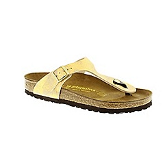 Birkenstock - Gold Stardust Gold Gizeh Womens Sandals