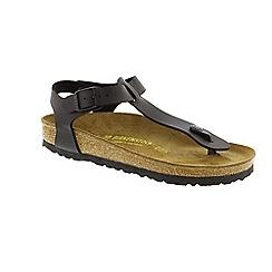 Birkenstock - Black 'Kairo' women's toe post sandal