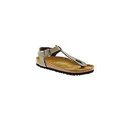 Birkenstock - Khaki 'Kairo' women's toe post sandal