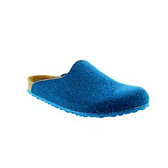 Birkenstock - Bright blue Petrol Amsterdam Womens Slippers