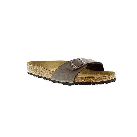 Birkenstock - Mocca +Madrid+ single strap sandal