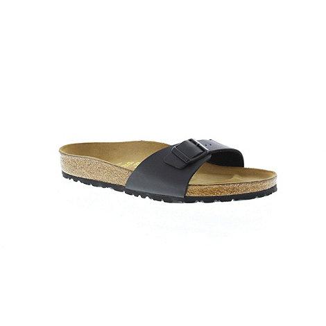 Birkenstock - Black +Madrid+ single strap sandal