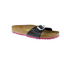 Birkenstock - Black/pink 'Madrid' women's sandal