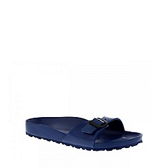 Birkenstock - Blue 'Madrid EVA' single strap sandals