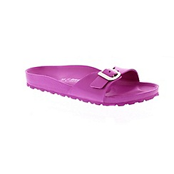 Birkenstock - Pink 'Madrid EVA' single strap sandals