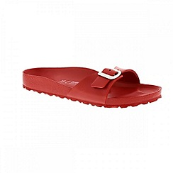 Birkenstock - Red 'Madrid EVA' ladies sandal