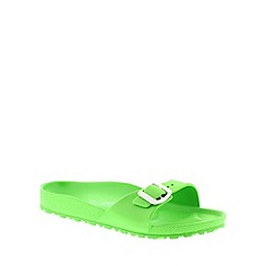 Birkenstock - Green Neon Green Madrid EVA narrow fitting sandals