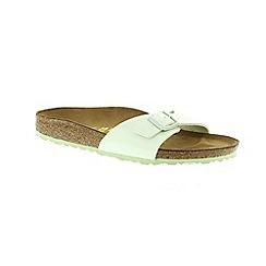 Birkenstock - Light green 'Madrid' narrow fit ladies sandals