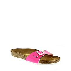 Birkenstock - Bright pink Neon Pink Madrid ladies sandals