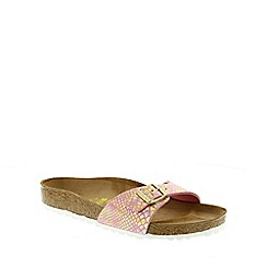 Birkenstock - Rose Shiny Snake Rose Madrid ladies sandal