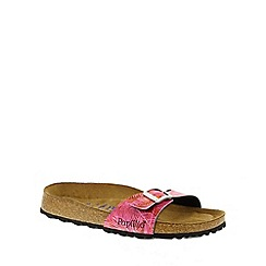 Birkenstock - Pink Tropical Leaf Pink Madrid ladies sandal