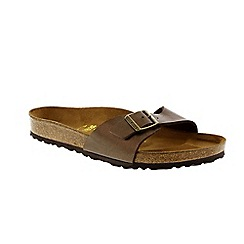 Birkenstock - Toffee 'Madrid' ladies single strap sandal