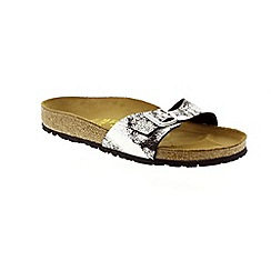 Birkenstock - Silver Stardust Black ' Madrid' Womens Sandals