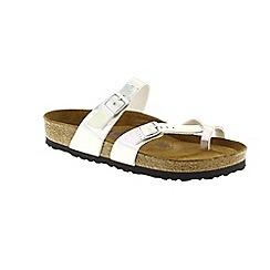 Birkenstock - Silver 'Mayari' ladies two strap sandals