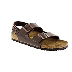 Birkenstock - Brown milano back strap sandal