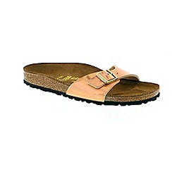 Birkenstock - Gold mirror rose gold madrid womens sandals
