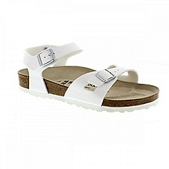 Birkenstock - White 'Rio' ladies two strap sandal