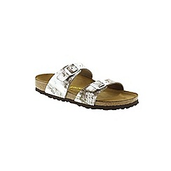 Birkenstock - Silver Stardust Stone 'Sydney' Womens Sandals
