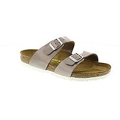 Birkenstock - Pearl hazel 'Sydney' ladies two strap sandals