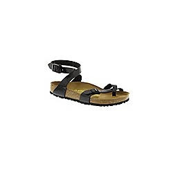 Birkenstock - Black Black Patent Yara ladies strappy sandals