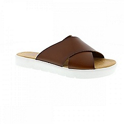 Blowfish - Brown whiskey 'Basya' ladies sandals