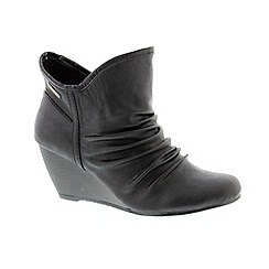 Blowfish - Black 'Old Ranger Billet' ladies boot