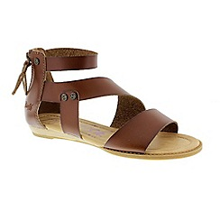 Blowfish - Brown whiskey 'Brink' ladies sandals