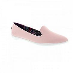 Blowfish - Pale pink 'Cleo' ladies slip on pumps