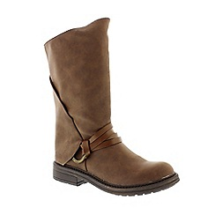Blowfish - Brown Coffee 'Texas Fenni' ladies boot