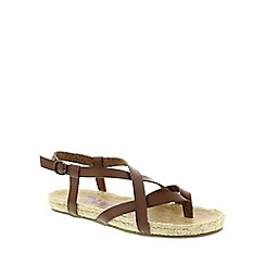 Blowfish - Brown Whisky 'Granola Rope' Women's Sandals