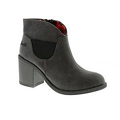 Blowfish - Black 'montley' ladies ankle boots
