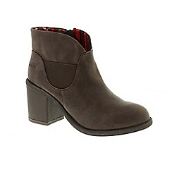 Blowfish - Brown 'montley' ladies ankle boots