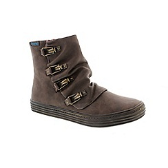 Blowfish - Brown 'Ohmy' Women's Ankle Boots