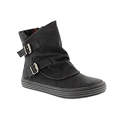 Blowfish - Black 'Oil' ladies boot