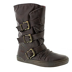 Blowfish - Brown chocolate 'olin' ladies winter boots