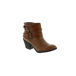Blowfish - Brown Coffee 'Saddle Pisa Sworn' ladies boot
