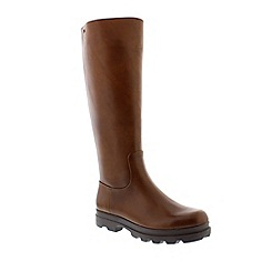 Camper - Medium Brown ladies leather boot