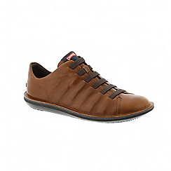 Camper - Medium brown beetle mens shoe