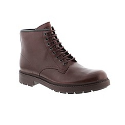 Camper - Dark red 'Hardwood' mens boots