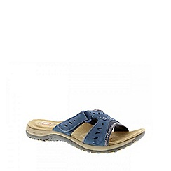 Earth Spirit - Blue 'Indiana' ladies casual sandal