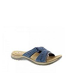 Earth Spirit - Blue 'Indiana' ladies casual sandal